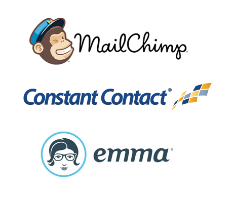 Export to MailChimp, Constant Contact and Emma